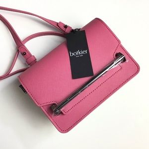 Botkier | Bubblegum & White Lennox Mini Crossbody